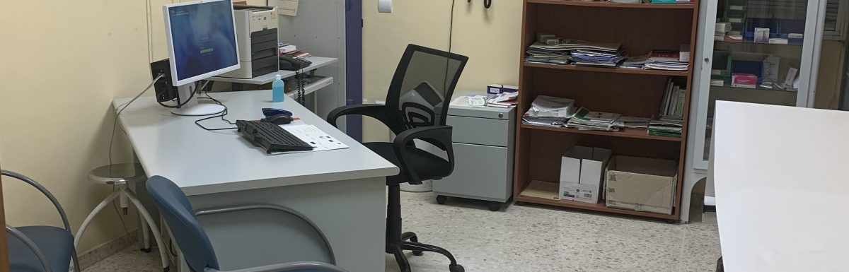 La posición de la mesa en la consulta médica: ¿Otra barrera?